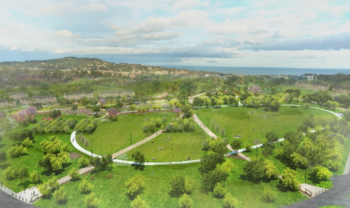Cherrywood's Tully Park will be equivalent in size to St Stephen's Green and will be located close to the planned town centre. The first planning application by Hines will create 150 jobs in the delivery of the major parks and roads in Cherrywood, as a first step in the provision of at least 3,800 homes.