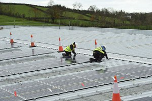 Kingspan completed the Largest Solar PV project in Ireland