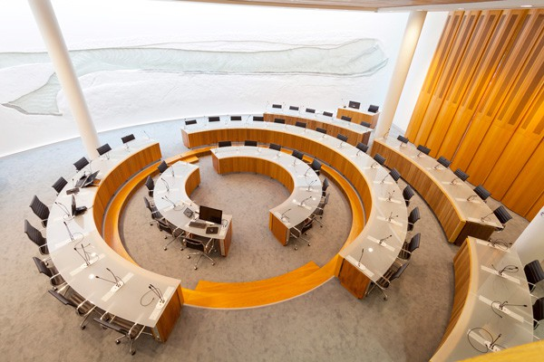 Fingal County Council Chamber