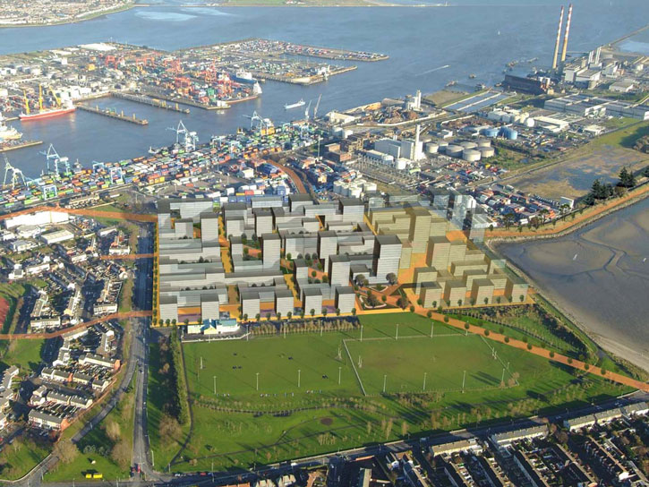 3,000 new homes planned for Ringsend