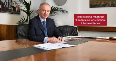 'Leaders in Construction' Eamon Booth, Managing Director, John Paul Construction