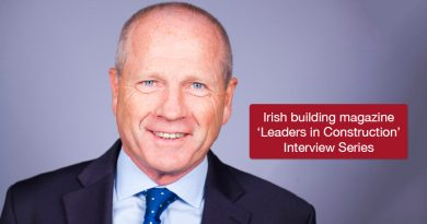 'Leaders in Construction'Tommy Drumm, Managing Director,Collen Construction