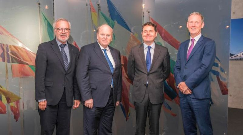 Ministers visit European Investment Bank to explore funding opportunities for Infrastructure