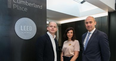 1 Cumberland Place unveils LEED Platinum certification during World Green Building Week