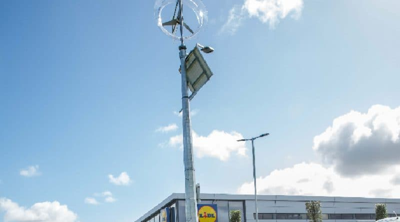 Airsynergy partners with Lidl to bring off-grid lighting to Drogheda