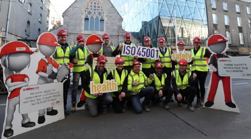 NSAI in Conjunction with Collen Construction Limited launch the New Health and Safety Standard ISO 45001