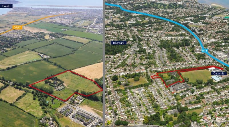 Dublin sites with planning for 163 homes on the market for a combined €28m