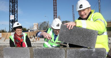 Minister lays brick at Athy €11m Primary Care Centre