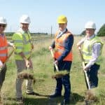 Sod turned at Baldoyle to Portmarnock Greenway
