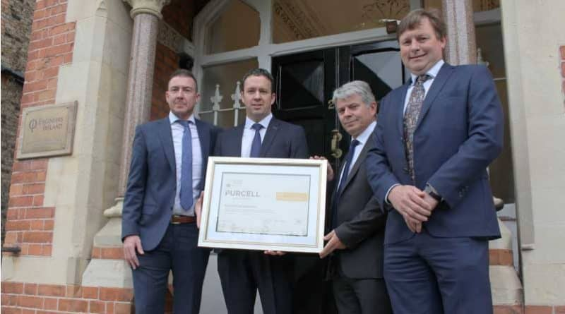 Engineers Ireland CPD Standard awarded to Purcell Construction