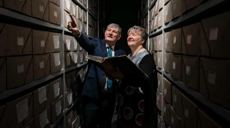 ESB opens all-electric archive building