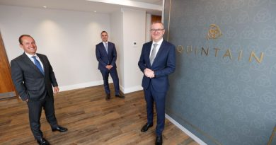 Quintain Ireland appoints Norman Higgins as Head of Construction