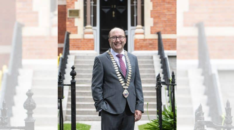 Maurice Buckley inaugurated as 128 President of Engineers Ireland