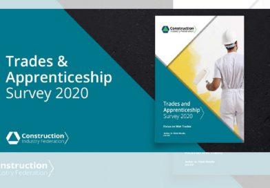CIF Trades and Apprenticeship Survey 2020 – Focus on Wet Trades