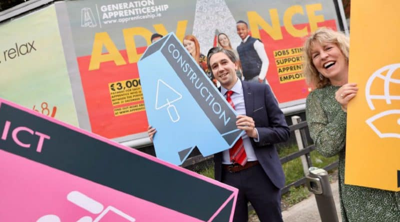 Minister Harris launches financial incentive scheme for employers to recruit apprentices