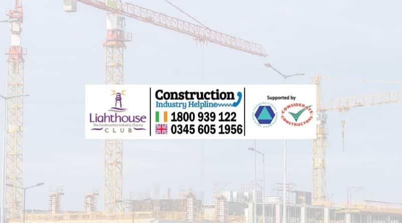 CIF partners with the Lighthouse Construction Industry Charity to shine a light for Irish construction workers