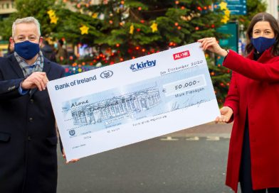 Kirby spreads good cheer with €100k donation to charity