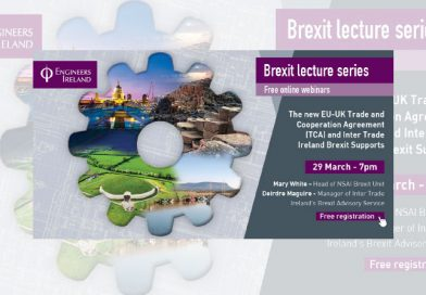 Engineers Ireland launches new Brexit Lecture Series