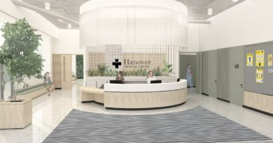 Sonica selected to fit out Hanover Medical Healthcare facility