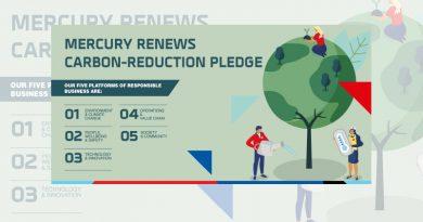Mercury Renews Carbon-Reduction Pledge